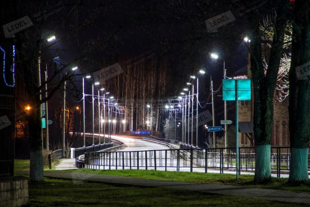 Улична расвета Кингисепп град