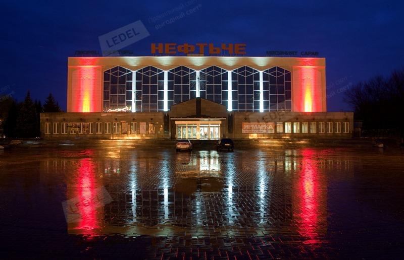 Осветљење зграде у Алметиевск