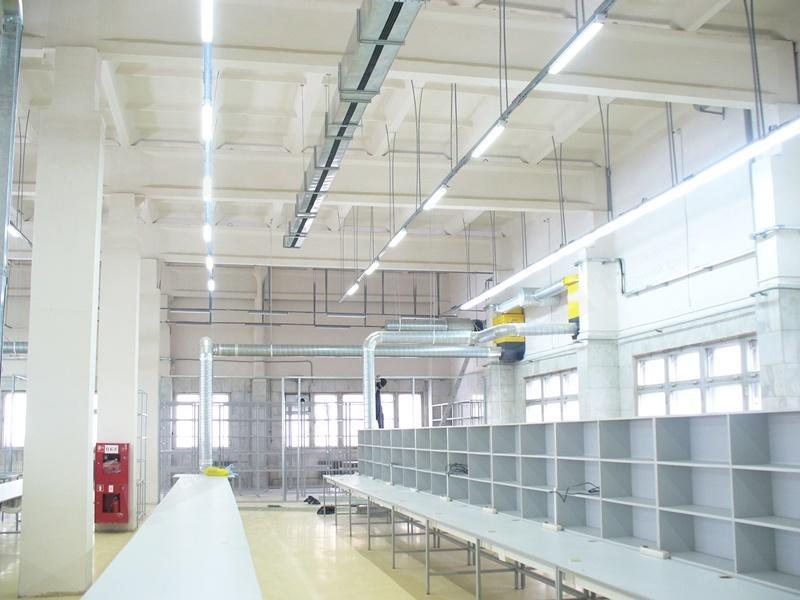 Осветљење индустријских предузећа из Ледел